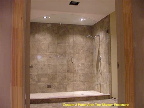 custom shower enclosure contemporary shower stalls and