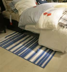 Ikea Floor Mats Canada Ikea Alslev Blue White Stripes Area Throw Rug Mat