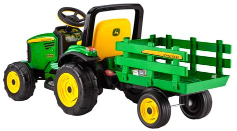 deere motorized tractor peg perego ride on tractors toys your child will