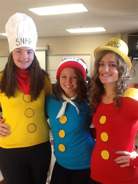 snap crackle pop halloween costume  group costumes