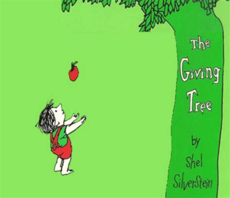 The Giving Tree sdsu children s literature finally saying thank you a