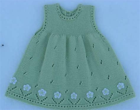 vestidos de tejido vestido para ni 241 a tejido con dos agujas calado con