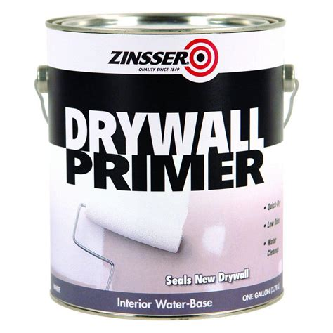 zinsser 1 gal drywall primer of 4 1501 the home