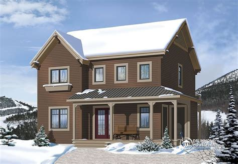 ski chalet house plans drummond house plan beautiful ski chalet plan number