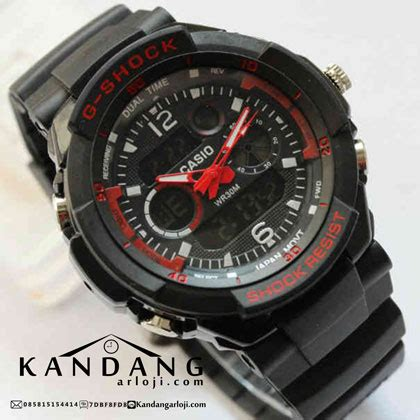 Jam Casio Analog Sporty jam tangan casio g shock g1250 bd dualtime digital analog
