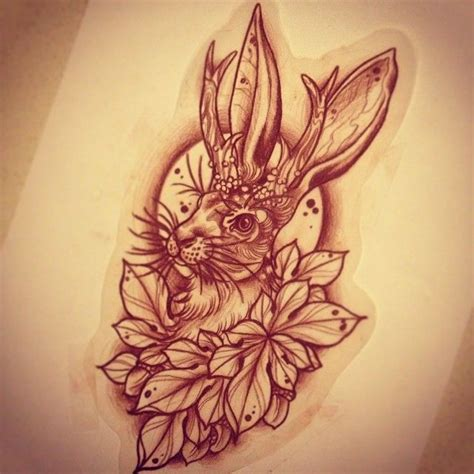 jackalope tattoo instagram jackalope for wednesday new style pinterest