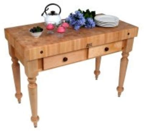 boos cucr05 shf cucina rustica table 4 in end grain