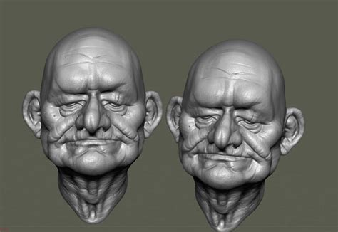 zbrush sculpting tutorial for beginners zbrush tutorial sculpting old woman