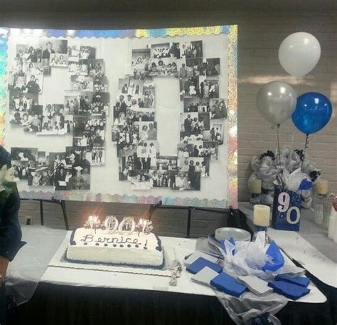 remarkable decorating ideas ninetieth birthday pictures