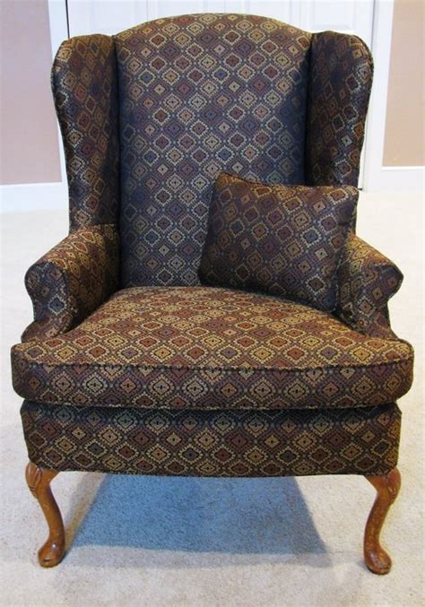 wing back chair slip cover box cushion wingback chair slipcover