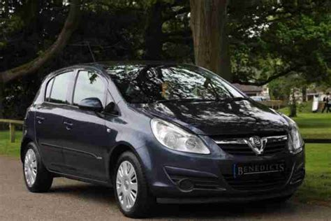 Vauxhall Corsa 1 2 Diesel 2007 57 Vauxhall Corsa 1 2 Club A C Cdti 5d 73 Bhp Diesel