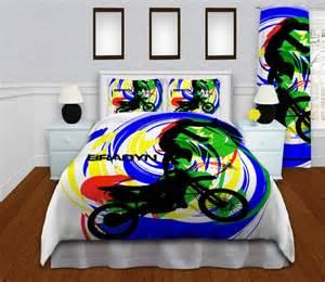 motocross comforter set high quality by eloquentinnovations