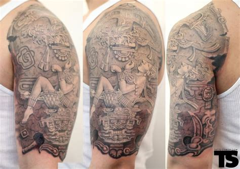 17 best images about mayan aztec tattoos on pinterest