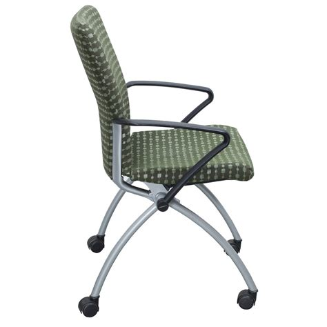 Nesting Chairs by Haworth X99 Seminar Used Nesting Chair Green National