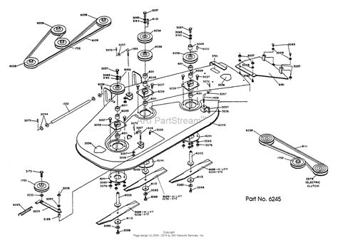 zero turn mower parts diagram dixon ztr 428 1990 parts diagram for mower deck assembly