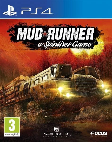 Spintires Mudrunner Ps4 spintires mudrunner review ps4 push square