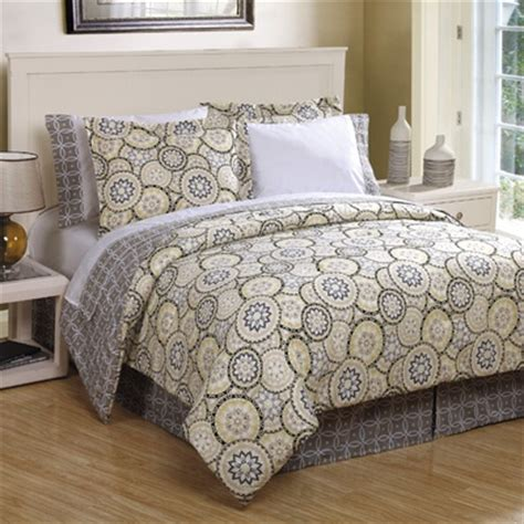 grey and yellow bedding bought king size on clearance at