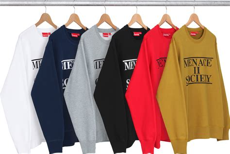 Hoodie Menace Ii Society Roffico Cloth best items from supreme summer 2014 third looks