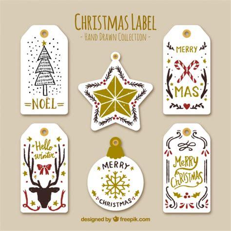 Stiker Natal Sticker 2 beautiful stickers with golden details vector