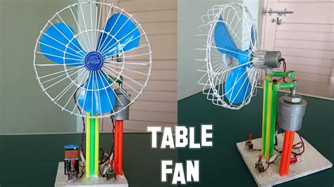 how to a fan how to a revolving table fan at home best out of