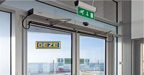 automatic swing door geze doors geze ec drive kit automatic sliding doors