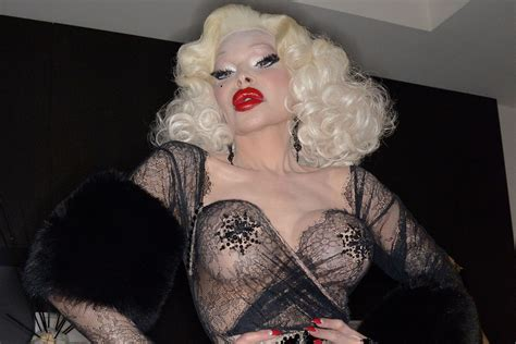 Amanda Lepore To Appear In Buzzworthy New by Amanda Lepore Performs At Book Launch