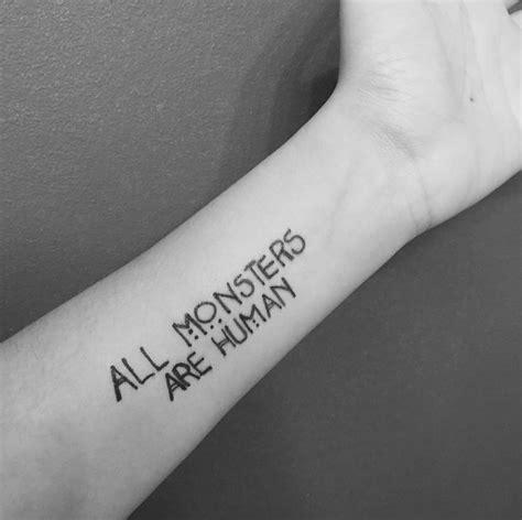 american horror story tattoo best 25 tattoos ideas on human
