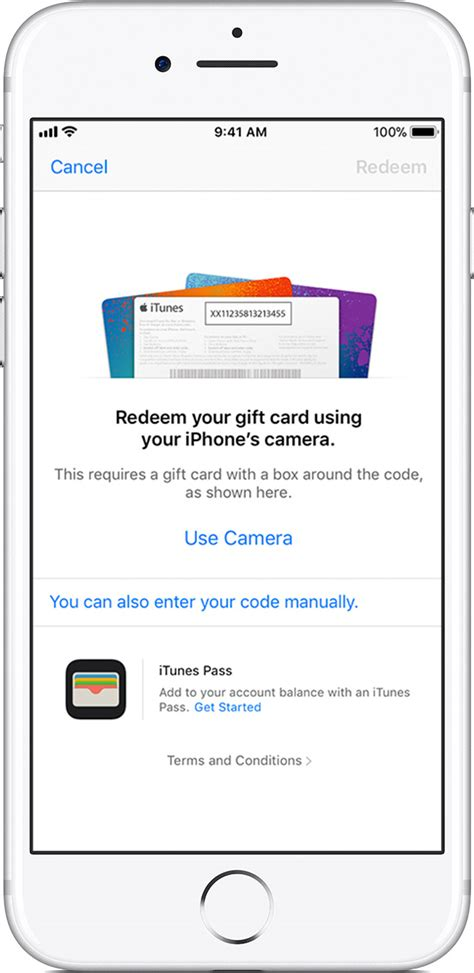 How To Add Itunes Gift Card To Iphone - redeem app store itunes gift cards apple music gift cards and content codes