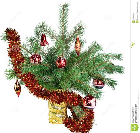 fir christmas tree ideas new year s still consisting of branches of a fir tree of tree decorations and
