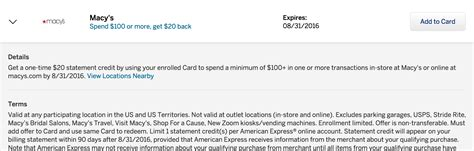 Buy Macy S Gift Card Online - amex offers save at macy s hp bedbath beyond nike boxed best buy carter s and