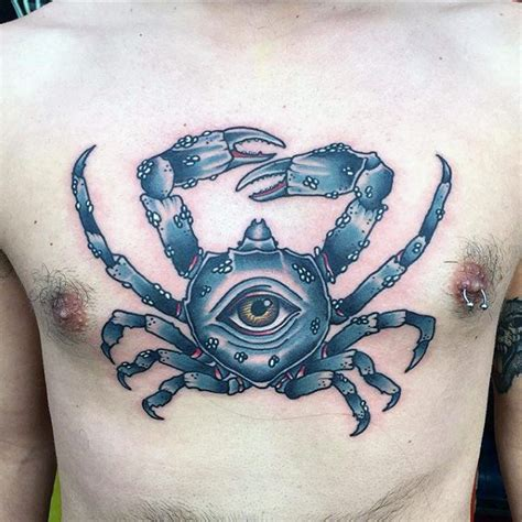 80 crab tattoo designs for men masculine ink ideas