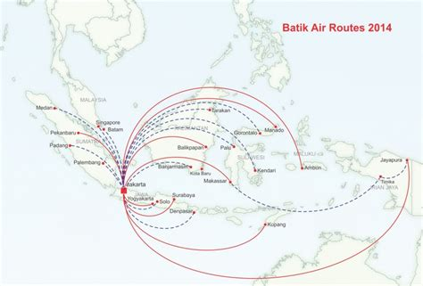Batik Air Route Map | lion air s batik air plans major domestic push followed by