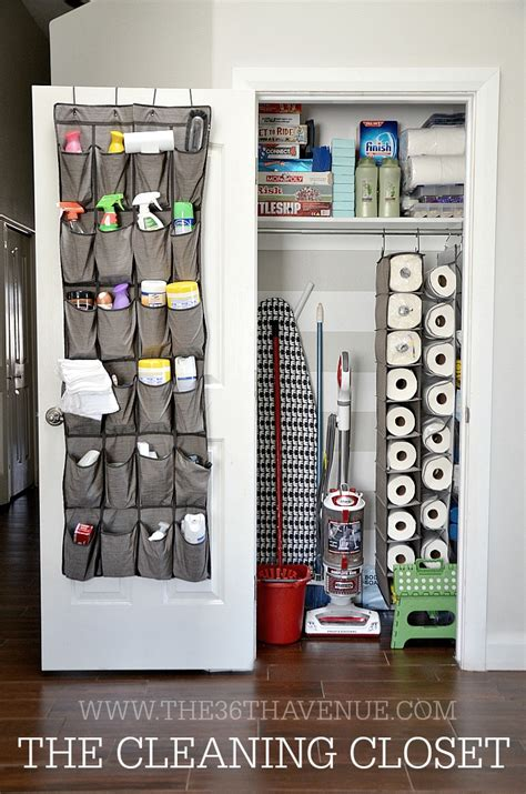 closet cleaning 16 clever ways to organize cleaning supplies