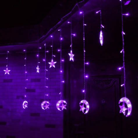 led purple christmas lights