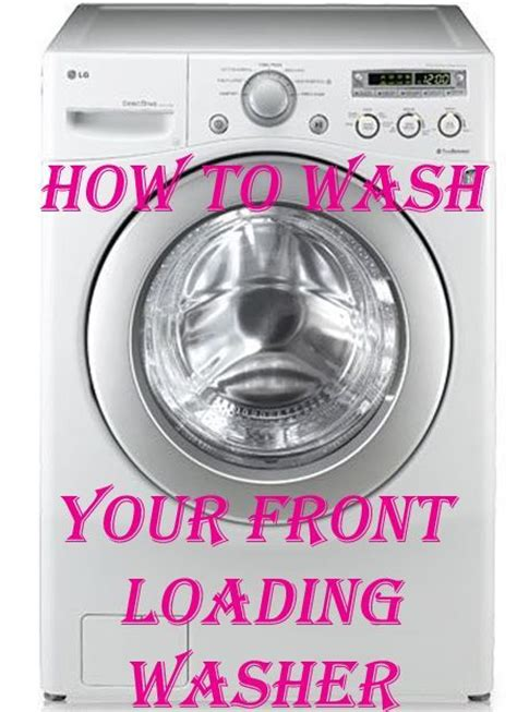25 best ideas about front load washer on