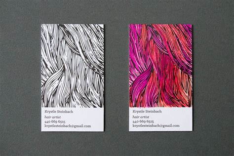 color business cards hair business cards business card design inspiration