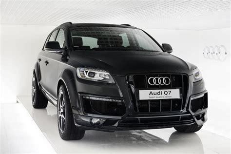 audi q7 limited edition audi q7 sport quattro limited edition launched in russia