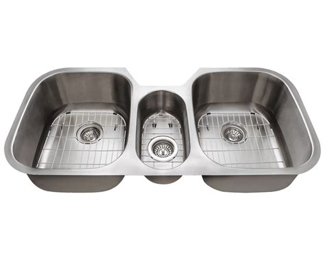 three bowl kitchen sink 4251 bowl stainless steel sink