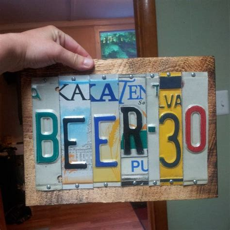 license plate craft projects 28 best images about license plate crafts ideas on