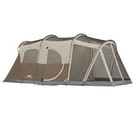 coleman weathermaster 6 person family tent with screened