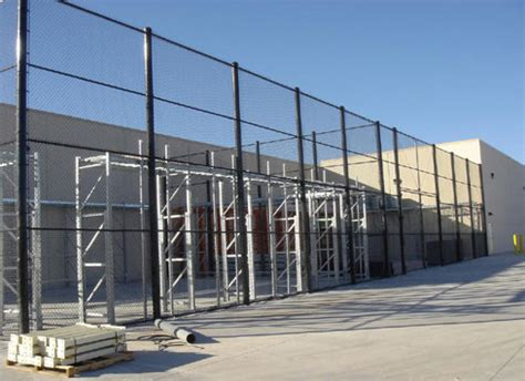 walmart fence chain link fences for businesses and commercial properties