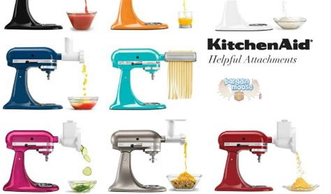 Amazon Canada: 40%  Off KitchenAid Stand Mixer Attachments