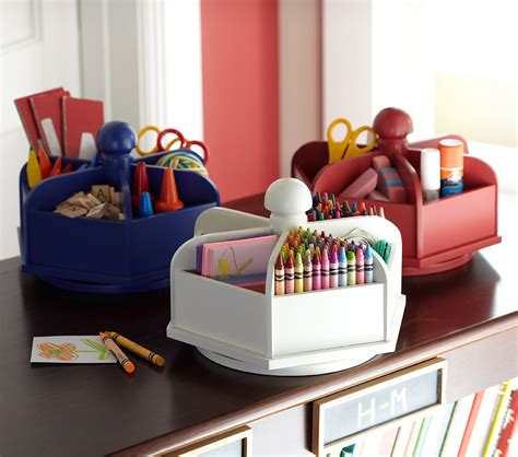 Lazy Susan Desk Organizer Getting Organized For Back To School Simplified Bee