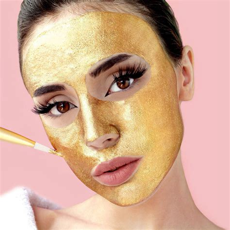 Mask Gold 24k 24k gold skin treatment gift set by gold by glow