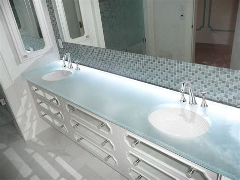 glass bathroom countertops sinks glass countertop quot white onyx quot glass bc 12 cbd glass
