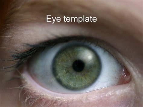 powerpoint templates free eye eye powerpoint template