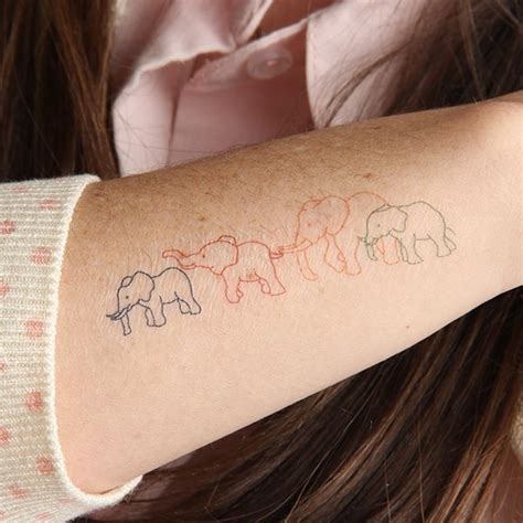 elephant family tattoo best 25 elephant family ideas on