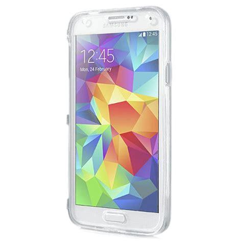Jual Soft Tpu Flip Cover Samsung Galaxy S5 I9600 Murah samsung galaxy s5 galaxy s5 neo matte tpu flip transparent