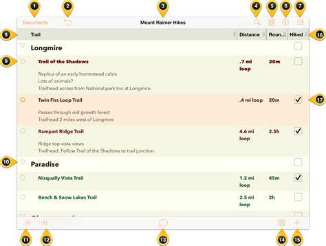 Outliner Folder by Omnioutliner 2 3 For Ios User Manual A Tour Of