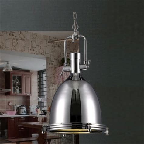 pendant lighting industrial style industrial style 1 light large pendant in polished nickel